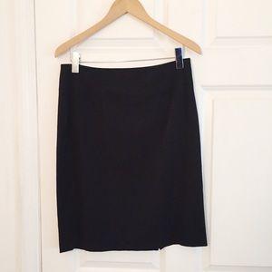 Designer Elie Tahari Black Skirt Size 8